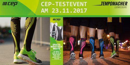 CEP NIGHTTECH - Testevent am 23.11.2017