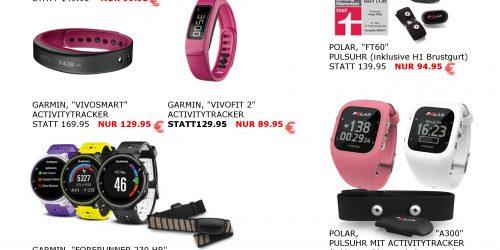 Polar und Garmin-Geräte bis zu 50 % reduziert!
