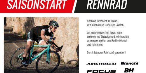 Rennrad - Saisonstart!