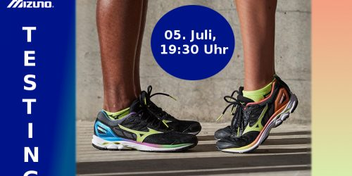 Mizuno Testaktion am 05. Juli in Ludwigsburg