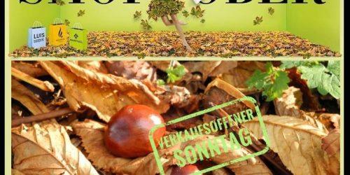 Kastanienbeutelfest 2018 - Verkaufsoffener Sonntag am 07. Oktober