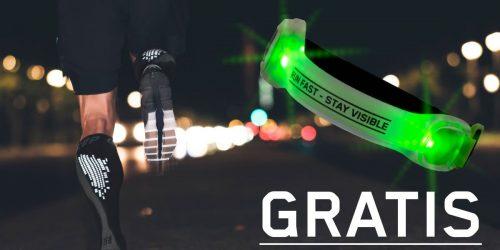 GRATIS LED-Armband beim Kauf einer CEP Nighttech Socks